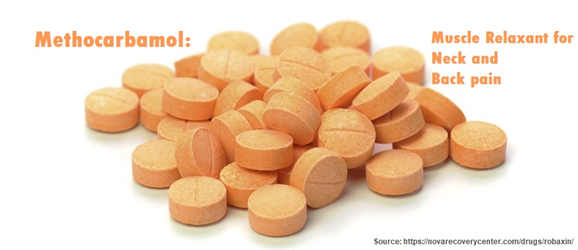 Methocarbamol for neck and back pain