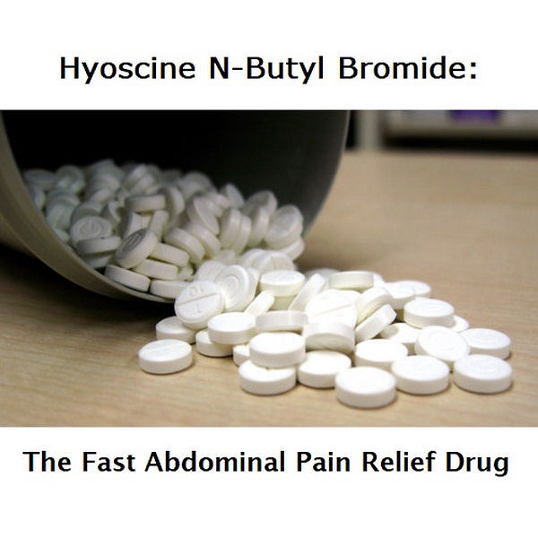 Use Hyoscine N-Butyl Bromide for fast abdominal pain relief