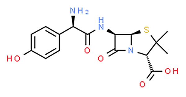 Chemical Formula and Molecular Formula of Amoxicillin