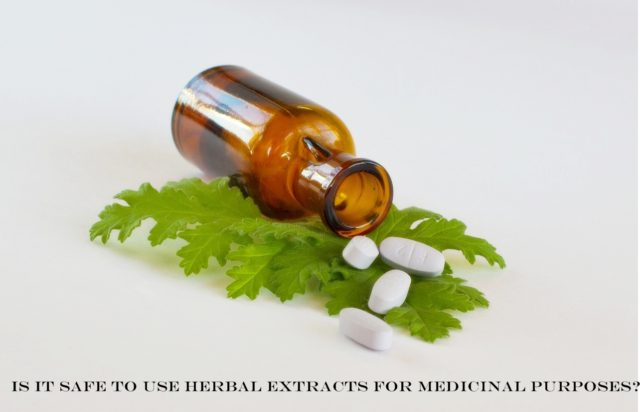 Is it safe to use herbal extracts products
