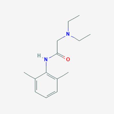 Chemical Formula of LIDOCAINE