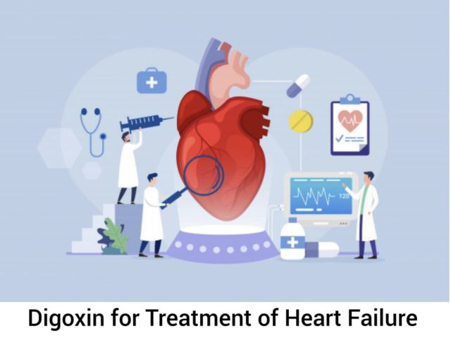 DIGOXIN FOR CONGESTIVE HEART FAILURE