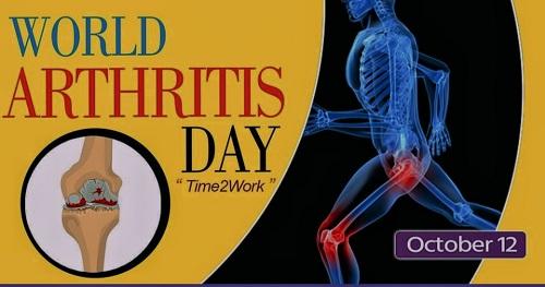 World Arthritis Day, 12th Oct