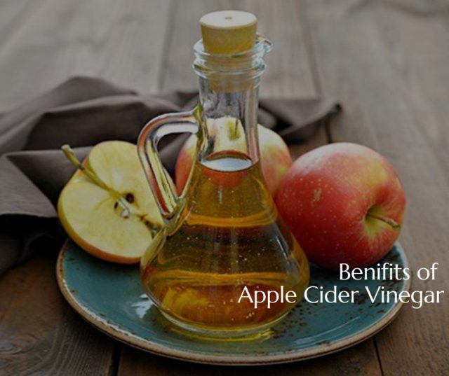 Apple Cider vinegar has a multitude of health benefits