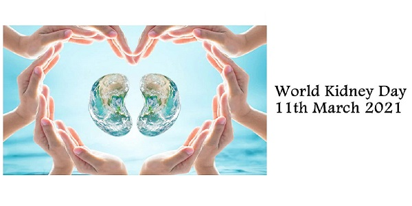 To raise awareness amongst all The World Kidney Day by anzen